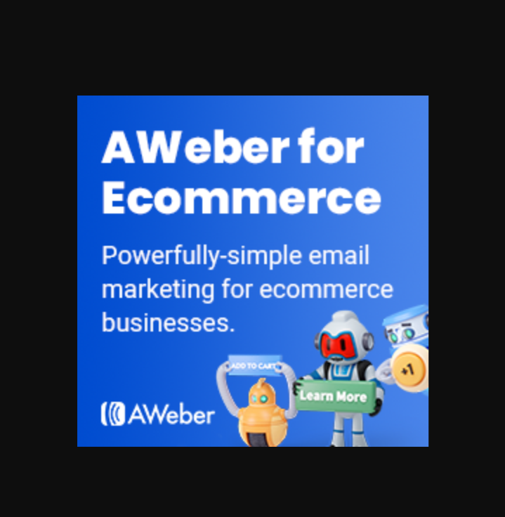 Email marketing powered by Aweber